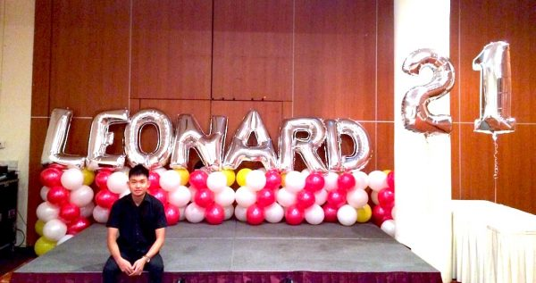 21st Birthday Balloon Decorations