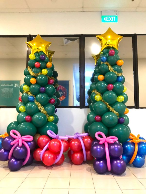 Balloon Christmas Tree Singapore copy