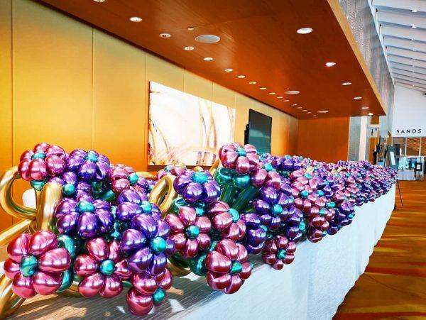 Balloon Flower Bouquet Sculptures