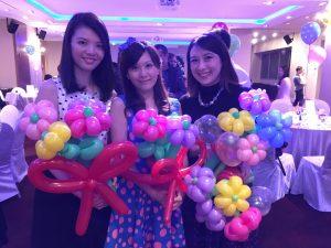 Balloon Flowers Sculptures