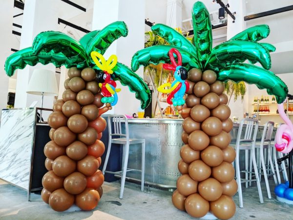 Balloon Palm Tree Decoration