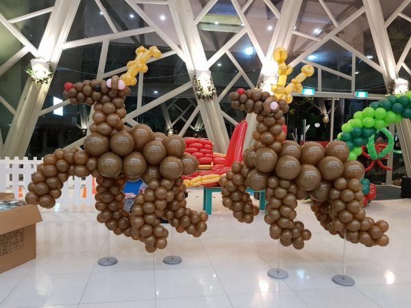 Balloon Reindeer Sculpture