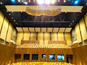 Balloon Release at SOTA Concert Hall