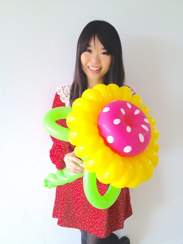 Balloon Sunflower scaled