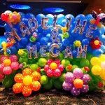 Customised Flower Balloon Backdrop