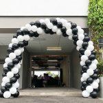 F1 Race Balloon Arch Decoration