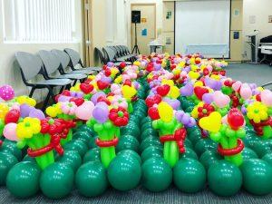 Flower Bouquet Balloon Decorations
