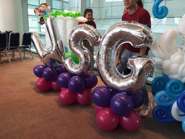 Foil Balloon Letter Decoration