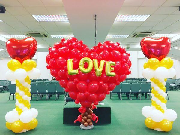 Large Balloon Heart Sculpture 1
