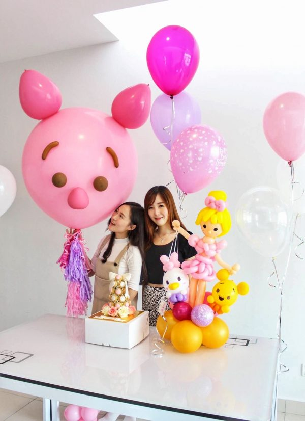 Piglet Big Floating Balloon Sculpture