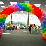 Rainbow Balloon Arch Singapore 1