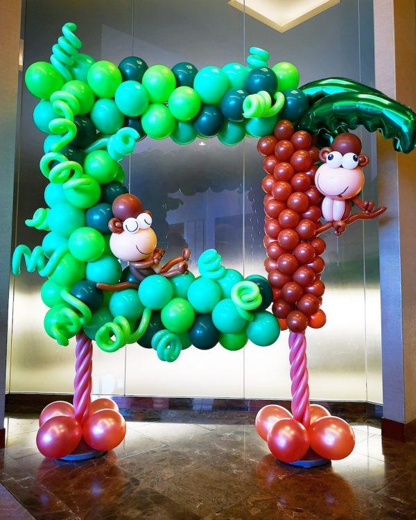 Simple Balloon Photoframe Singapore