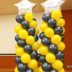 Star Balloon Columns RWS