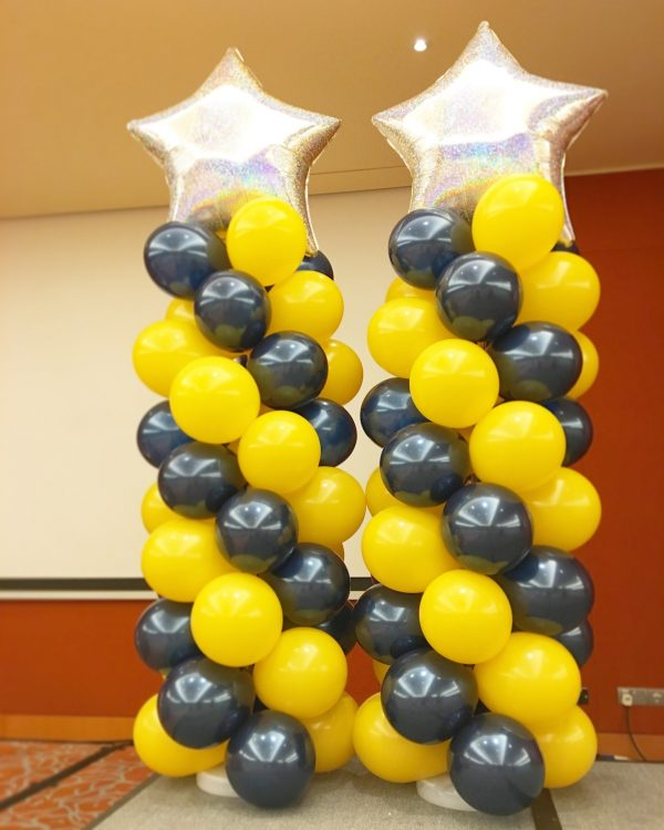 Star Balloon Columns RWS
