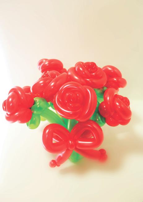 Balloon Roses Bouquet