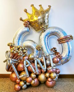 Balloon Foil Number Decorations Singapore 1