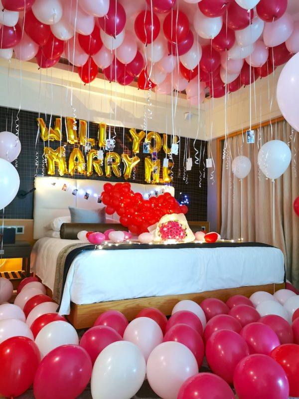 Balloon Room Styling Proposal