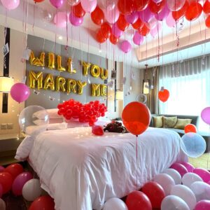 Balloon Room Styling for Proposal Singapore