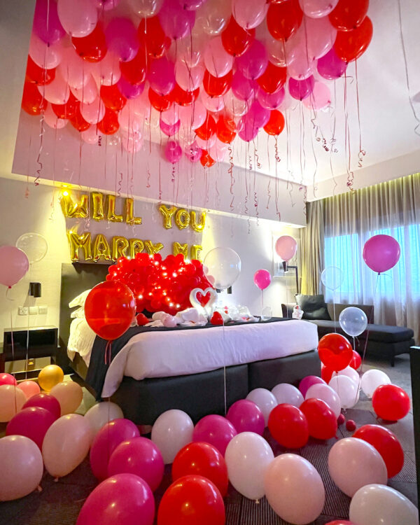 Balloon Room styling Decoration Singapore copy