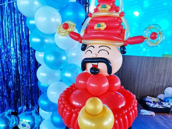 Cai Shen Balloon Sculpture
