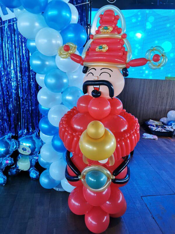 Cai Shen Ye Balloon Sculpture scaled