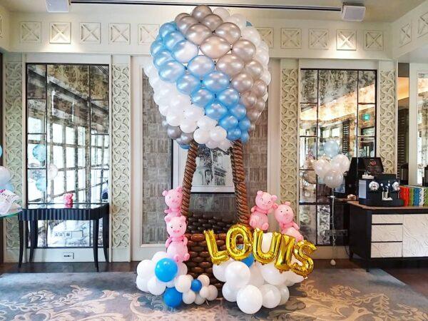 Giant Hotair Balloon Sculpture copy