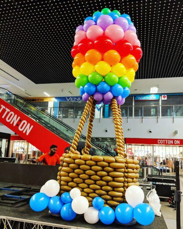 Hotair Balloon Sculpture Decorations