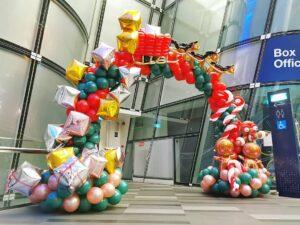 Christmas Balloon Arch Singapore copy