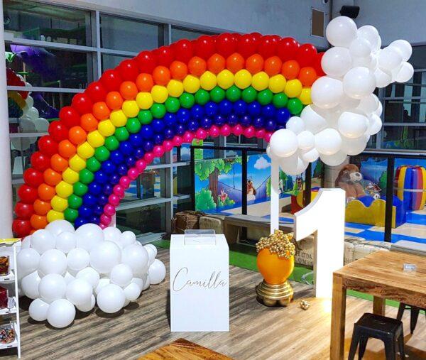 Large Balloon Rainbow Sculpture Decorations Singapore