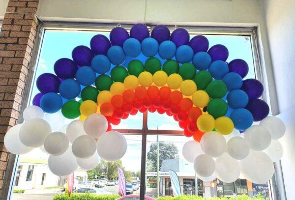 Standard Balloon Rainbow Sculpture