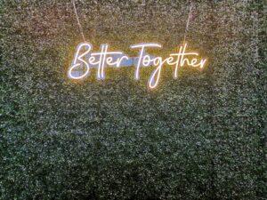 Grass Wall Rental for Wedding Singapore